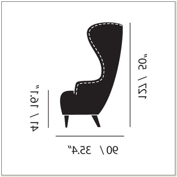 Tom Dixon Wingback Chair Dimensions
