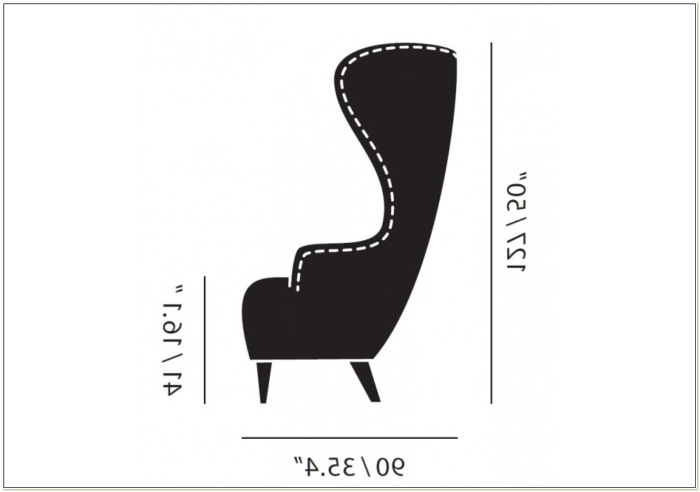 Tom Dixon Wingback Chair Dwg