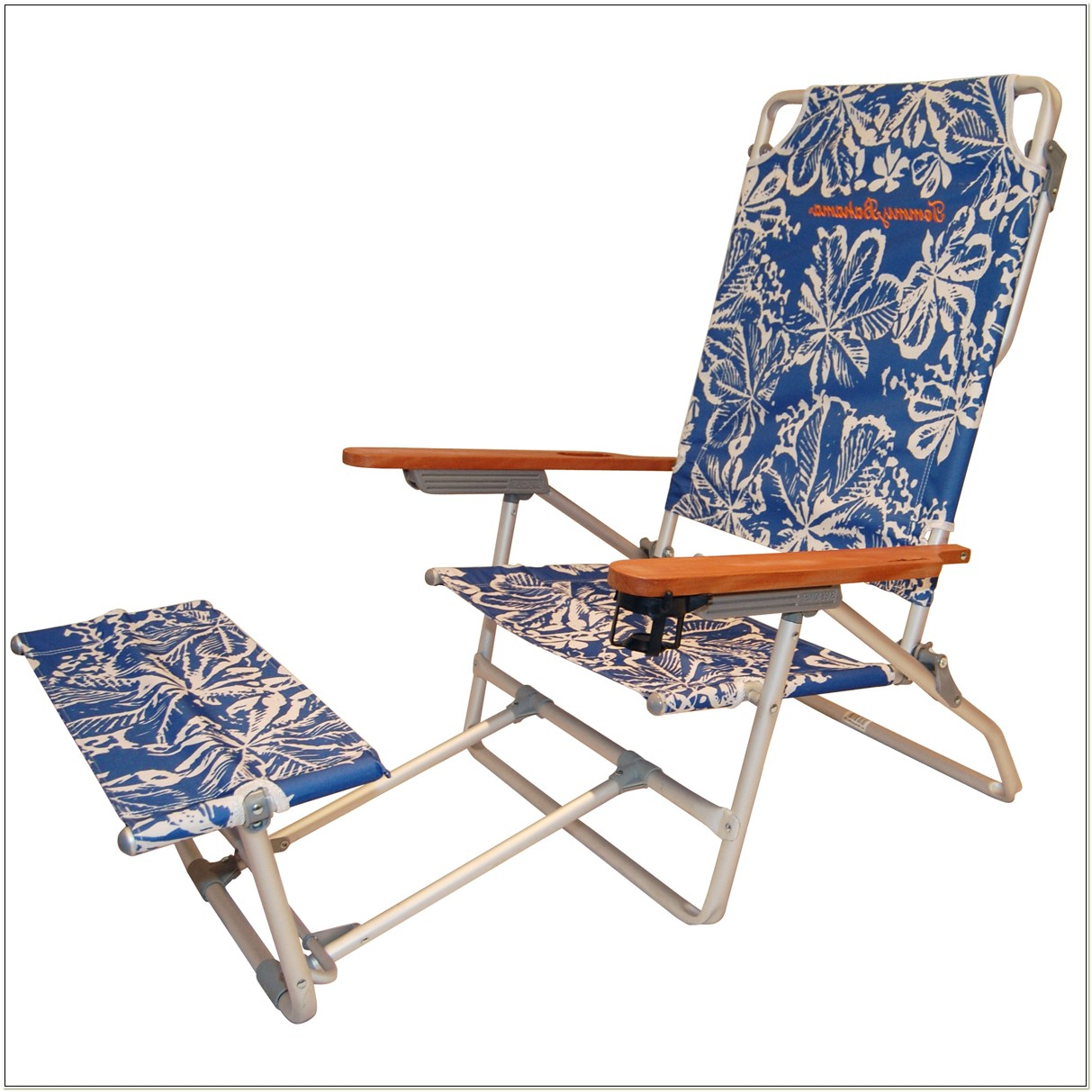Tommy Bahama Aluminum Beach Chair With Footrest