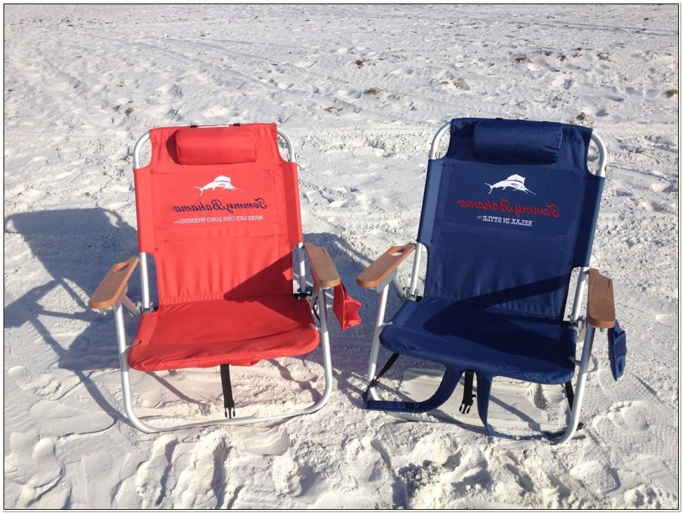 Tommy Bahama Beach Chairs With Cooler