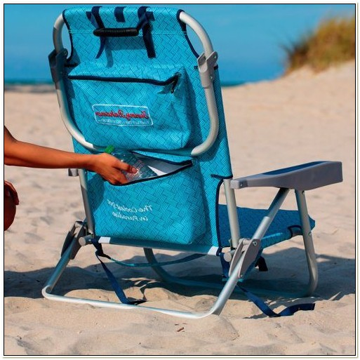 Tommy Bahama Periwinkle Deluxe Backpack Beach Chair