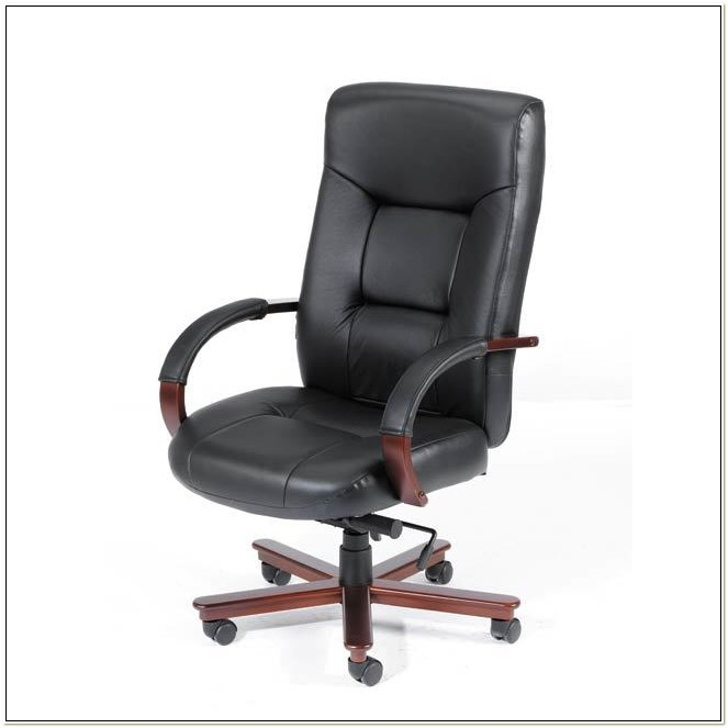 Top Grain Leather High Back Executive Chair