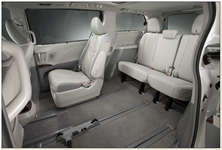 Toyota Sienna Captains Chairs Removal