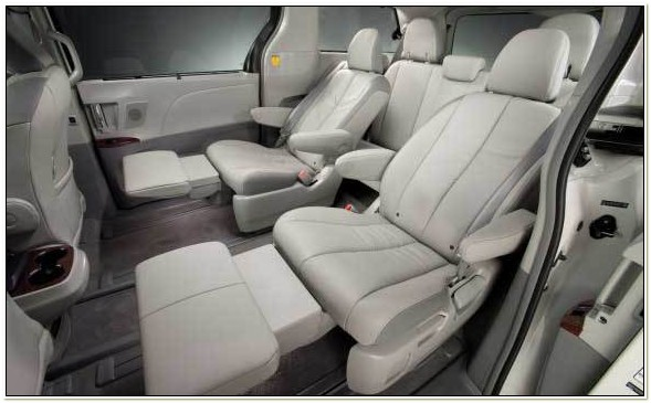 Toyota Sienna Captains Chairs