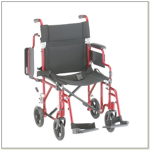 Transport Wheelchair With Removable Arms