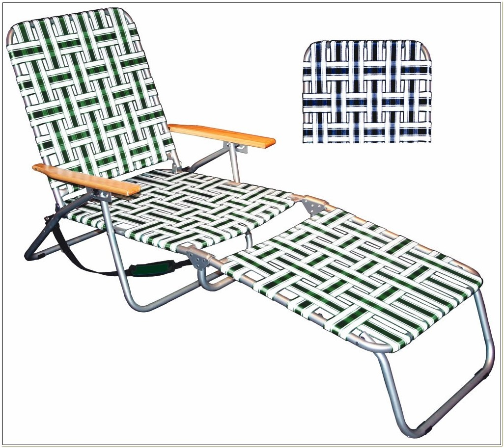 Tri Fold Chaise Lounge Chair