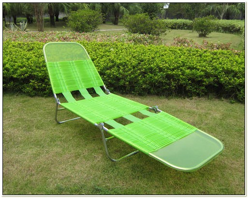 Tri Fold Lounge Chair