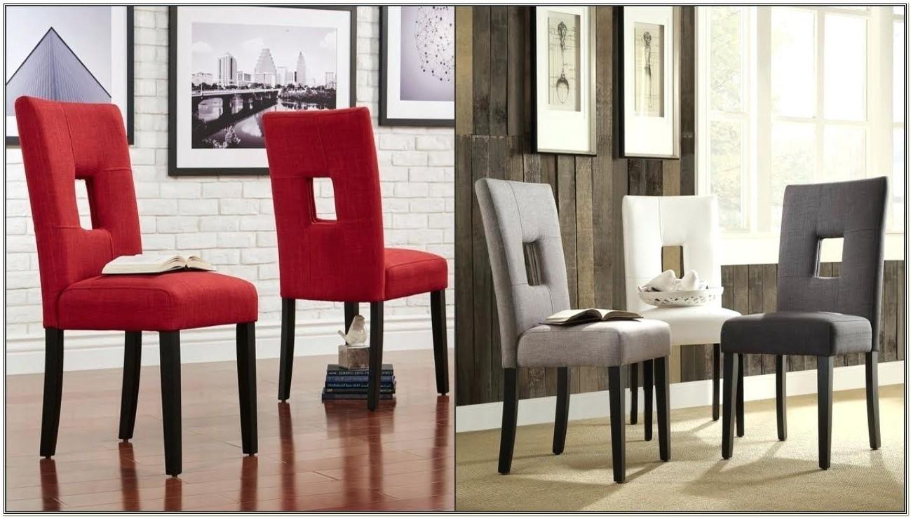 Tribecca Home Mendoza Keyhole Dining Chairs