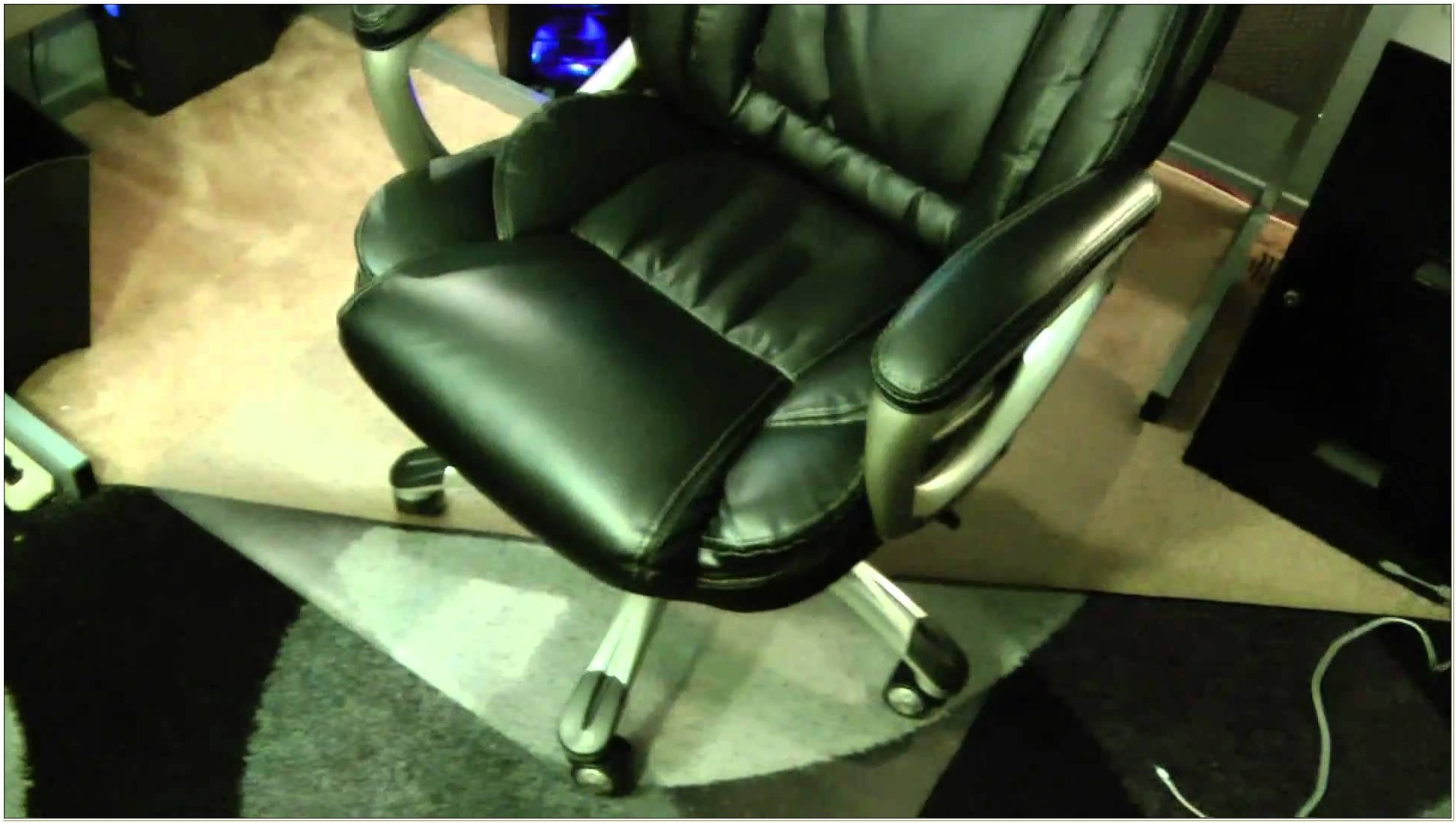 True Innovations Bonded Leather Executive Office Chair