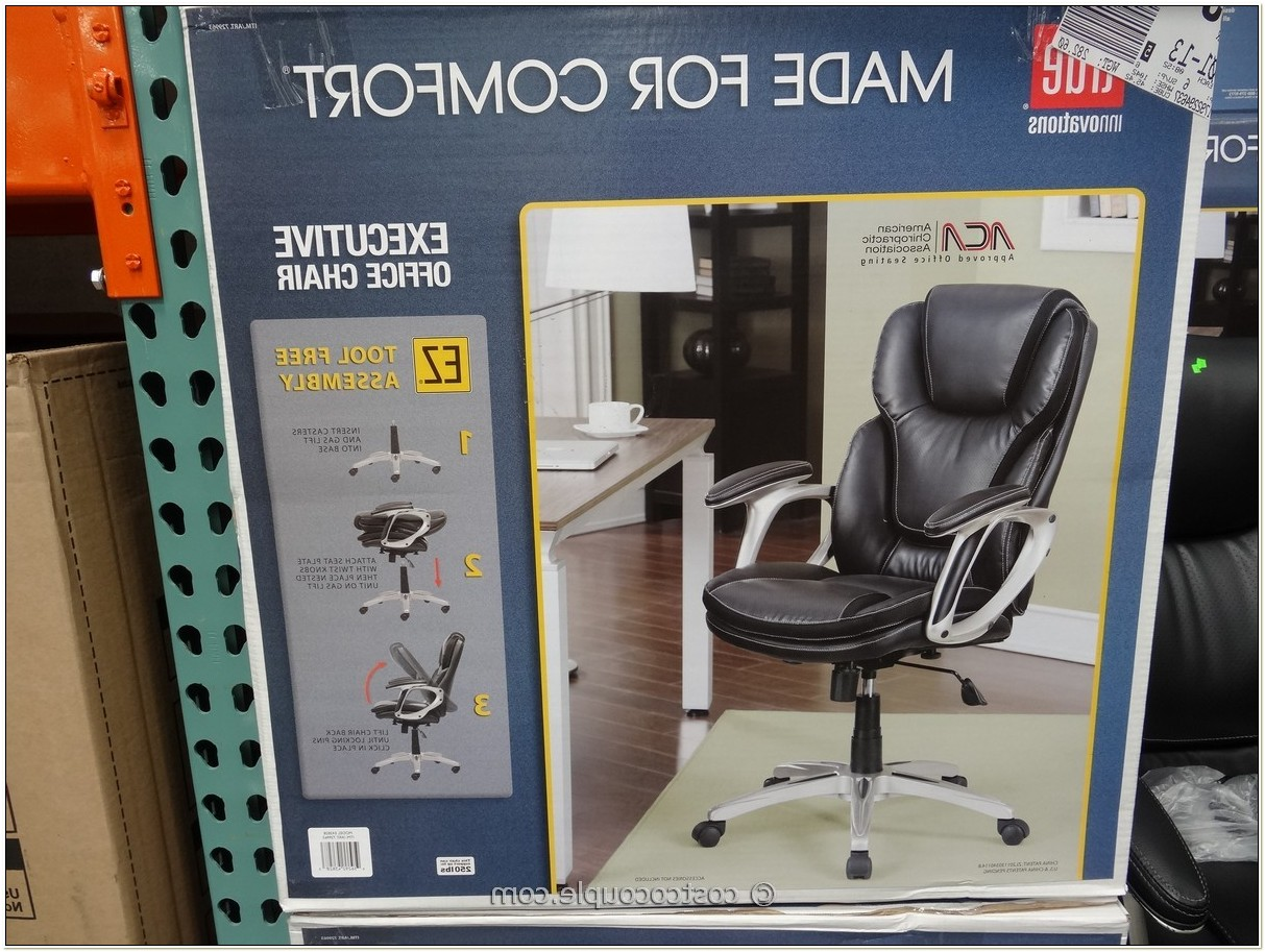 True Innovations Executive Office Chair Assembly