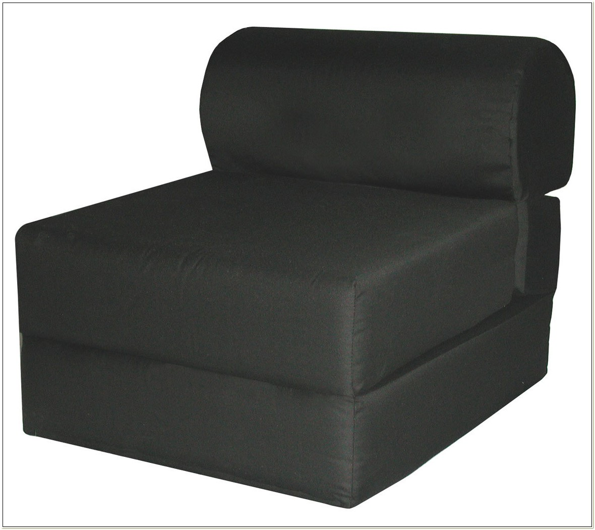 Twin Size Studio Chair Sleeper Black