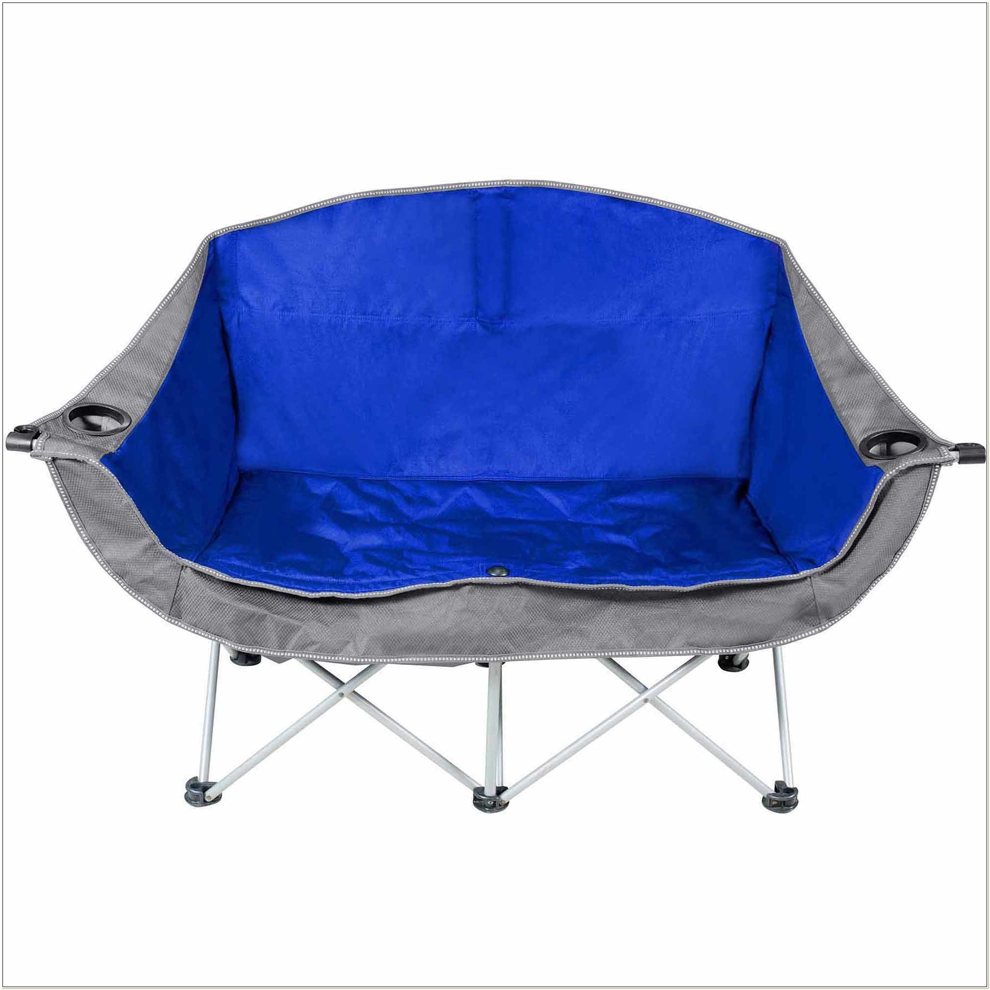 Two Seater Folding Camping Chairs