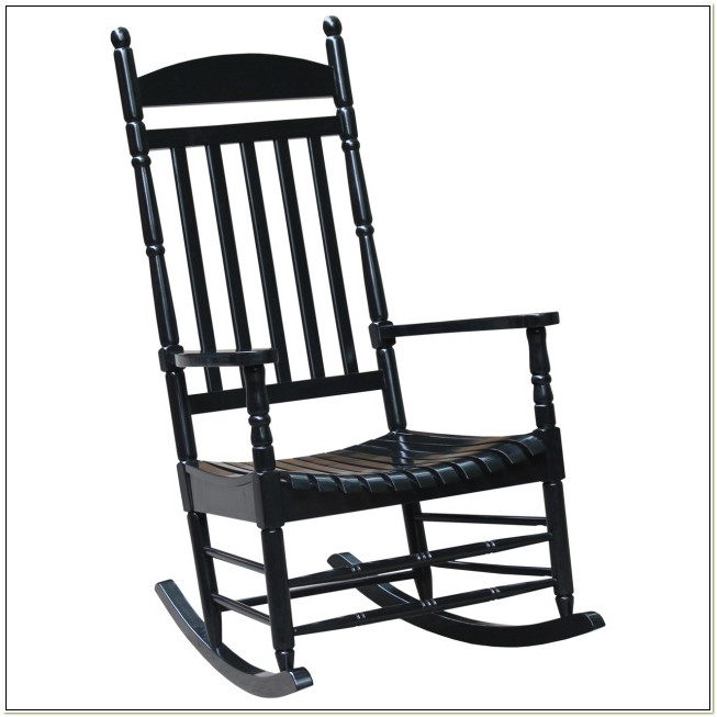 Unfinished Wooden Porch Rocking Chairs
