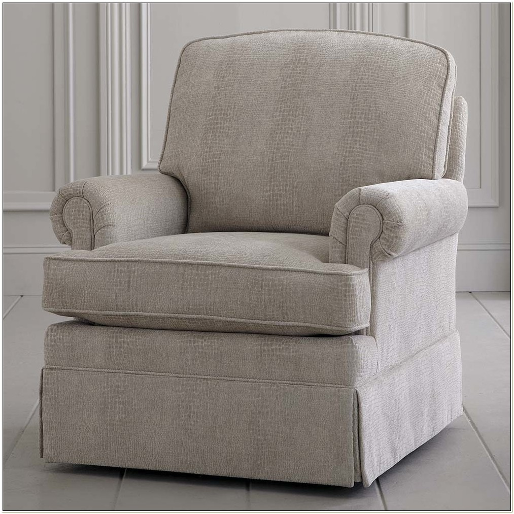 Upholstered Chairs That Rock And Swivel