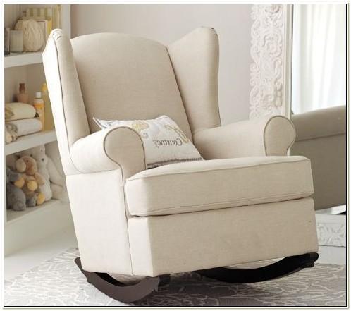 Upholstered Glider Chair For Nursery