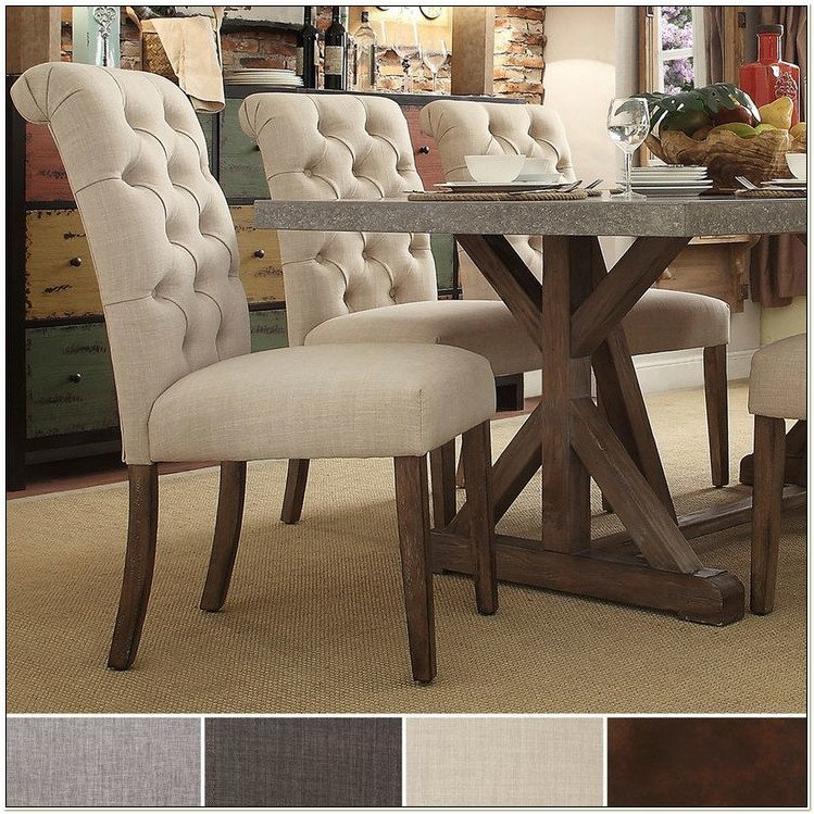 Upholstered Parsons Chairs Dining Room Furniture