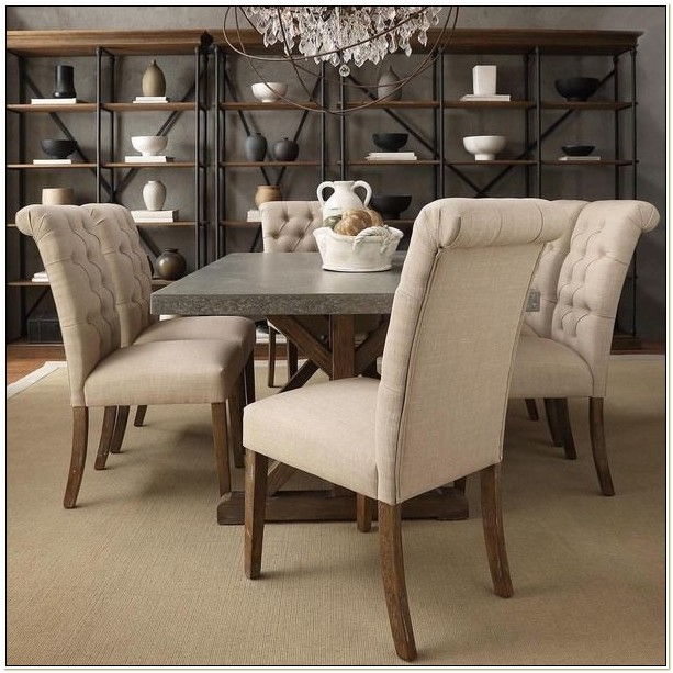 Upholstered Parsons Dining Room Chairs