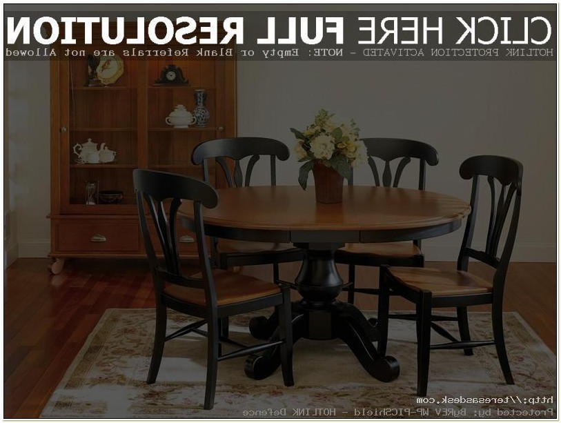 Used Amish Table And Chairs