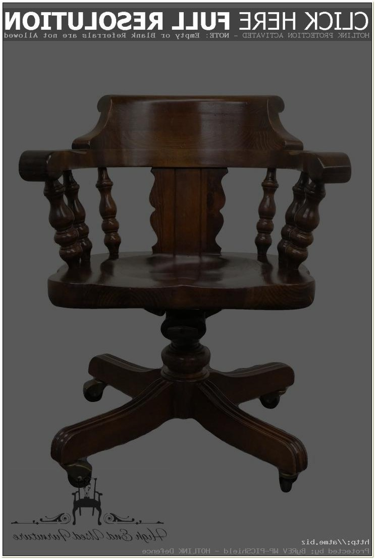 Used Ethan Allen Desk Chairs