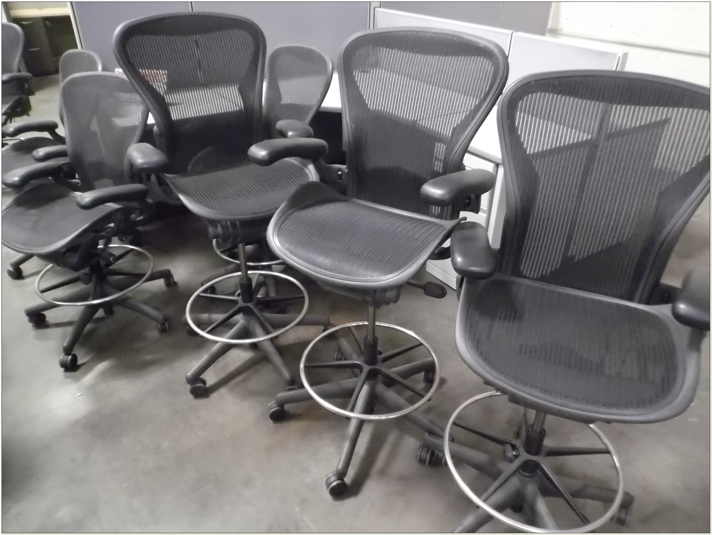 Used Herman Miller Drafting Chair