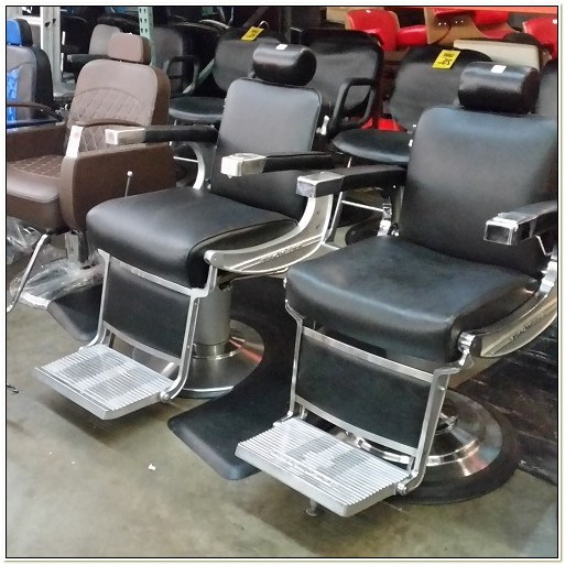 Used Takara Belmont Barber Chairs