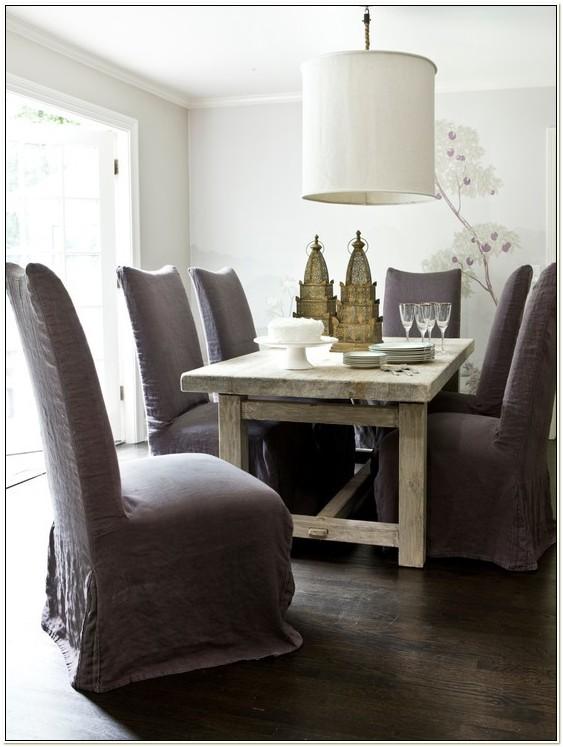 Velvet Dining Room Chair Slipcovers