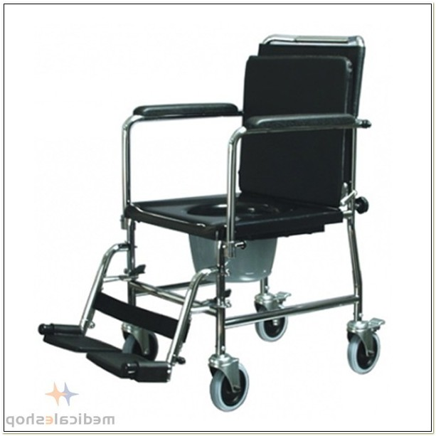 Versamode Drop Arm Commode Chair