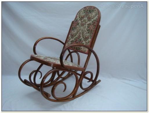 Victorian Bentwood Rocking Chair