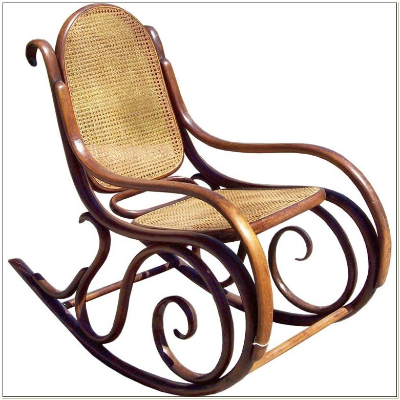 Victorian Thonet Bentwood Rocking Chair