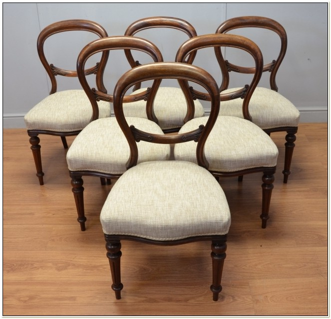 Vintage Balloon Back Chairs