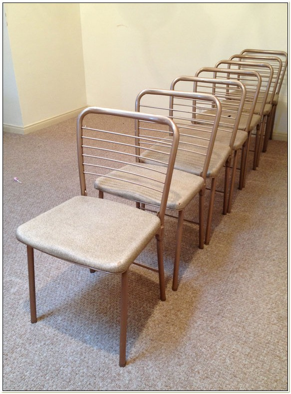 Vintage Cosco Metal Folding Chairs
