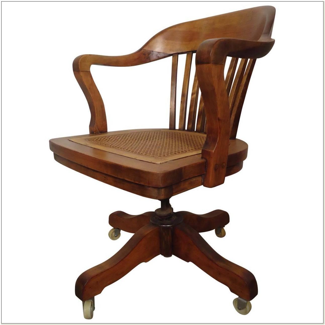 Vintage Desk Chair Swivel
