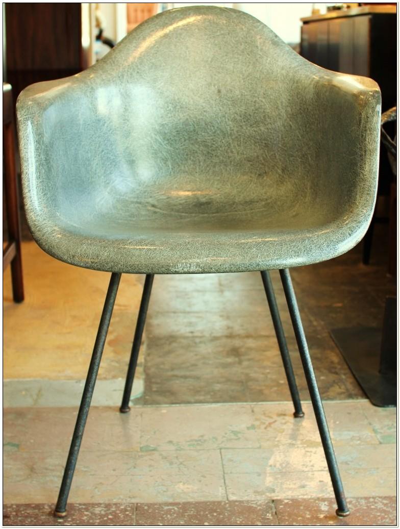 Vintage Eames Herman Miller Chairs