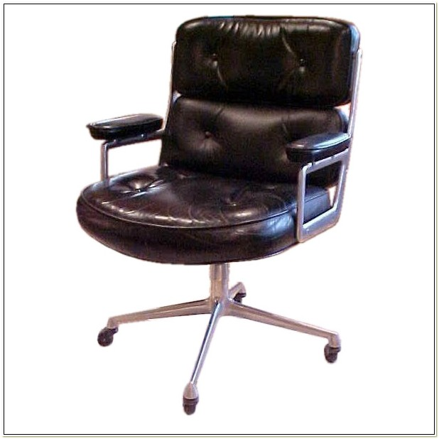 Vintage Herman Miller Leather Chair