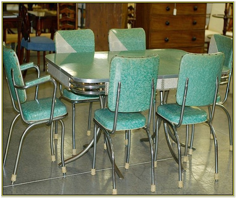 Vintage Kitchen Table And Chairs Ebay