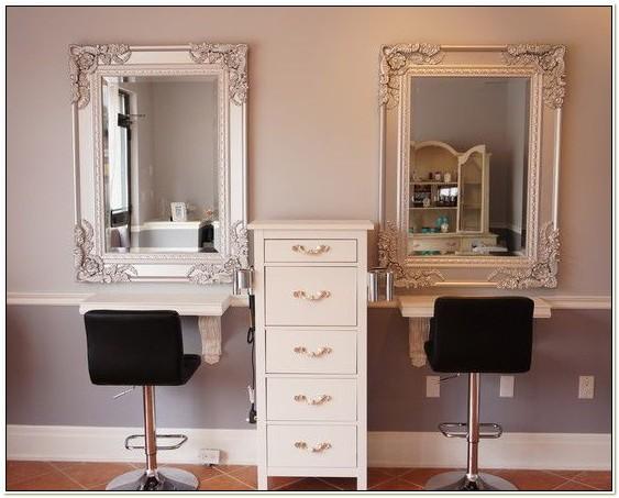 Vintage Style Beauty Salon Furniture