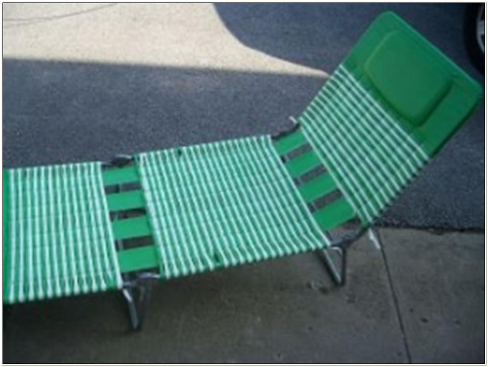 Vinyl Tri Fold Lawn Chair