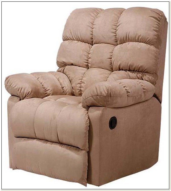 Wall Hugger Recliner Chair Mocha Microfiber