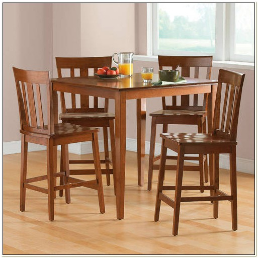 Walmart Dining Table 4 Chairs