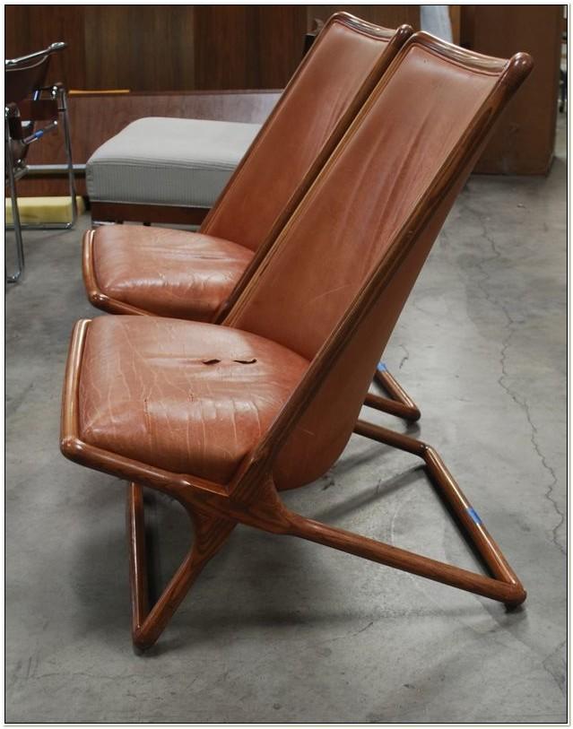 Ward Bennett Scissor Chair