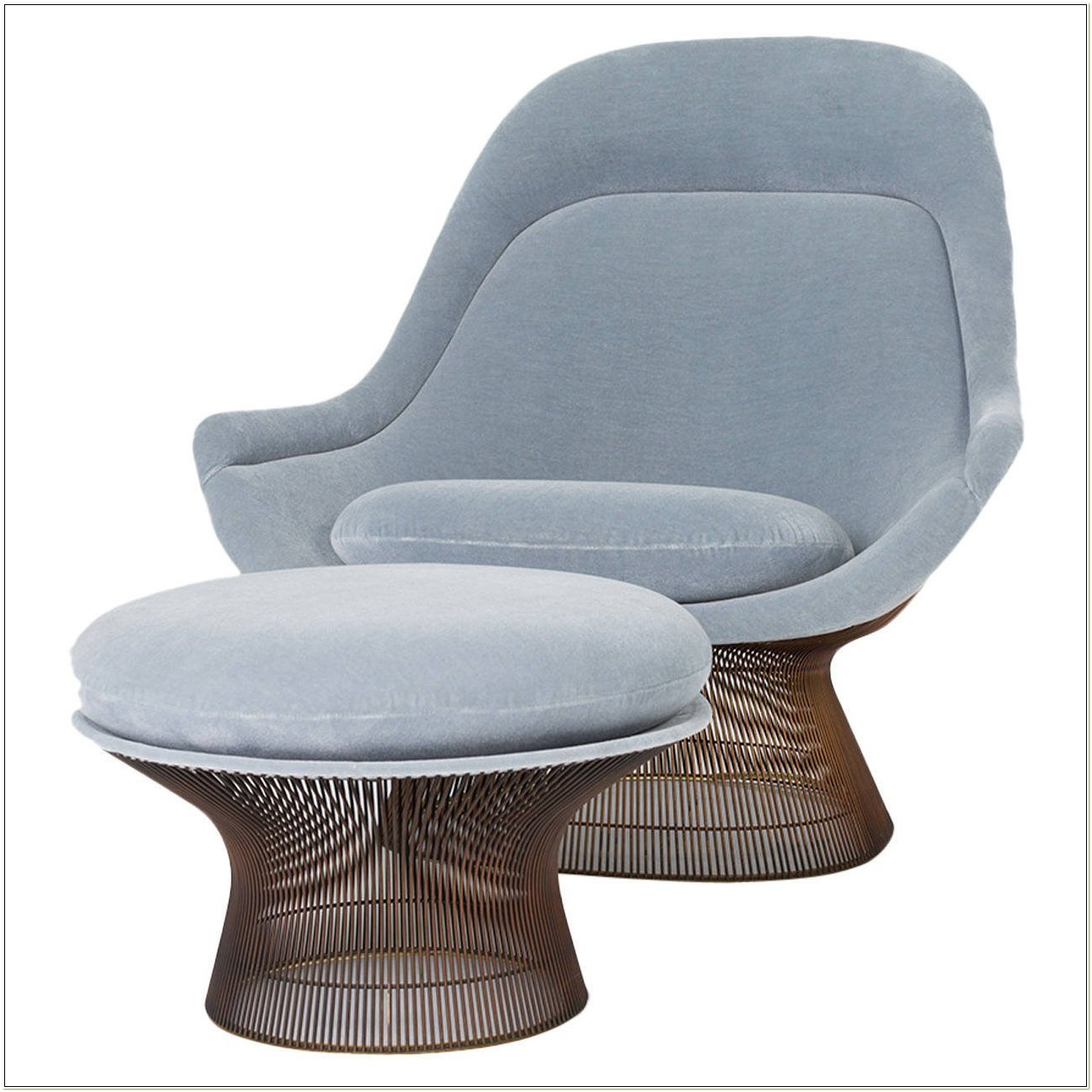 Warren Platner Lounge Chair And Ottoman