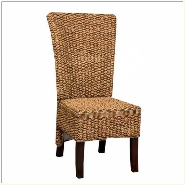 Water Hyacinth Dining Chairs