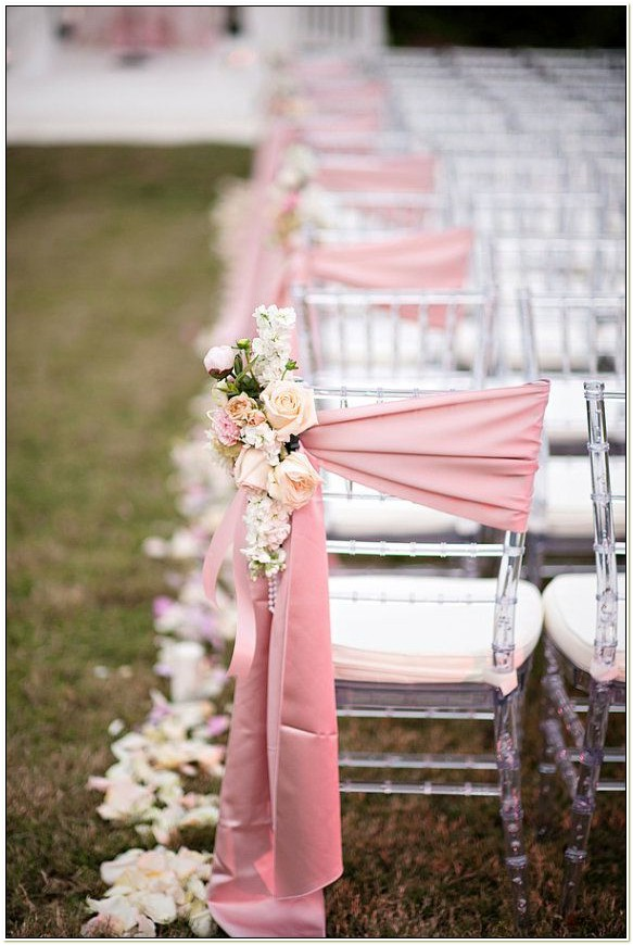 Wedding Sashes For Chairs