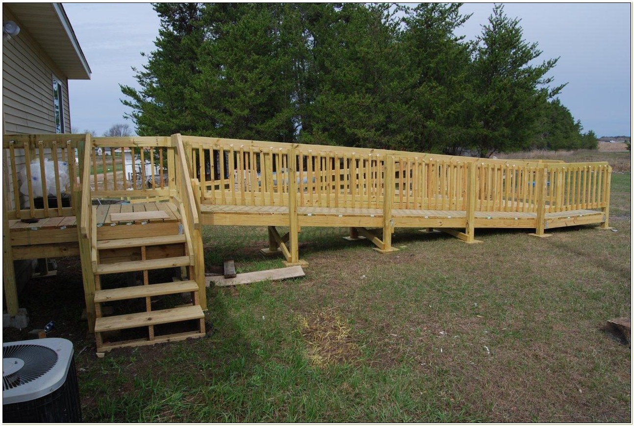 Wheelchair Ramp Plans Wood
