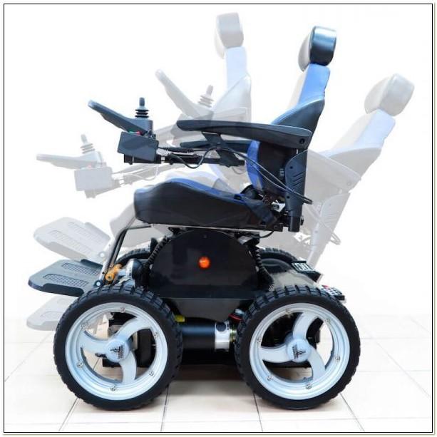 Wheelchair That Climbs Stairs