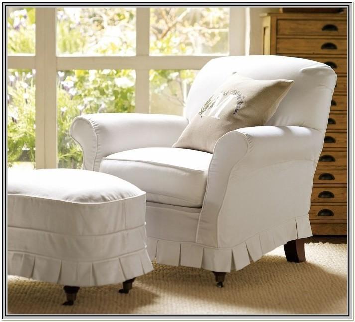 White Chair Slipcover T Cushion