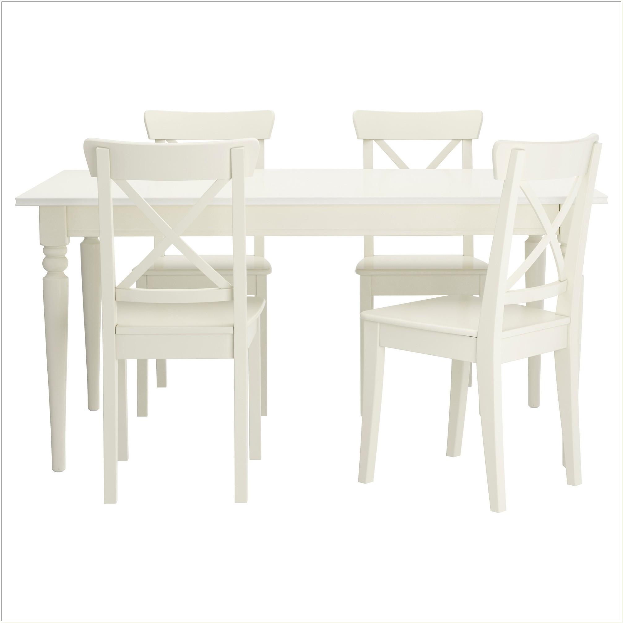 White Dining Set Ikea