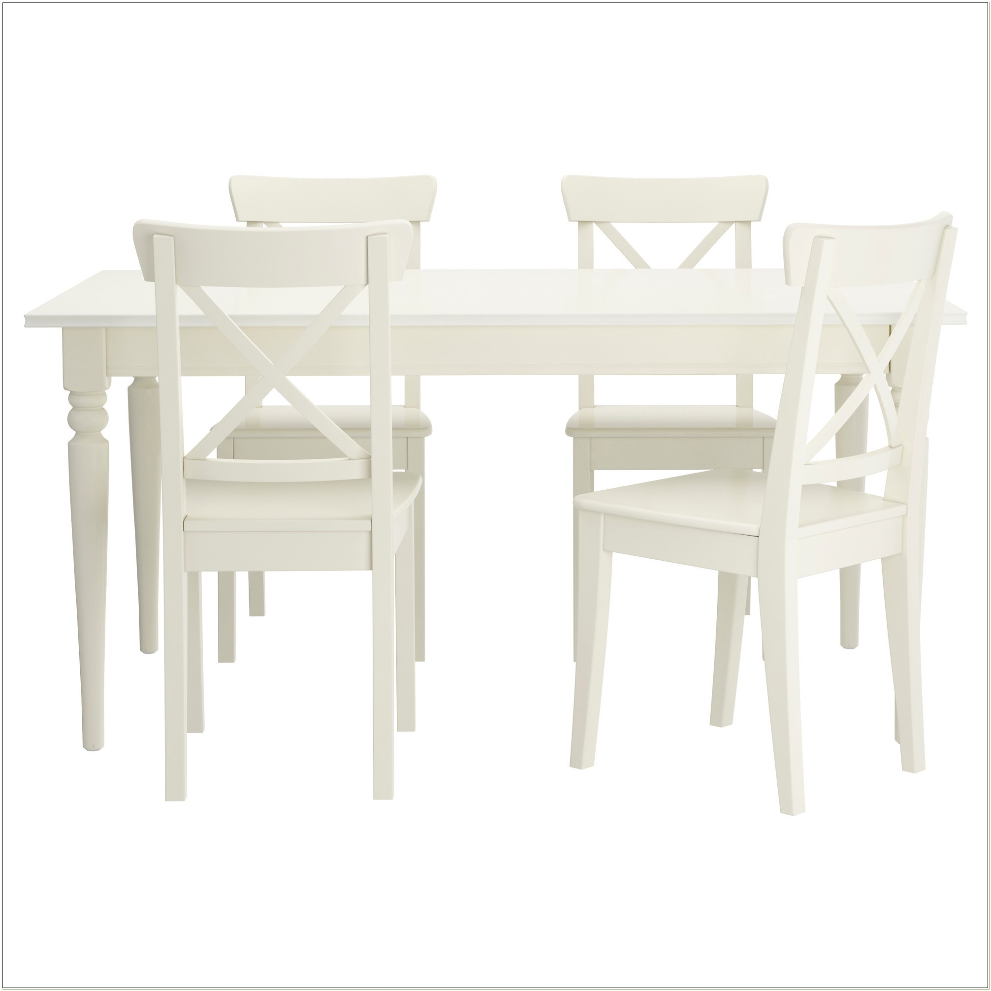 White Dining Table Chairs Ikea