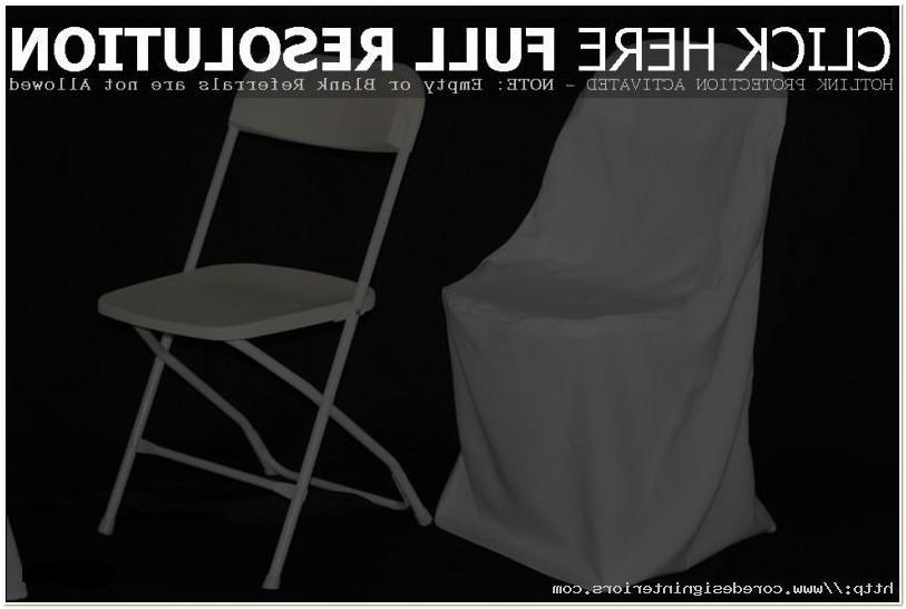 White Folding Chair Covers Cheap