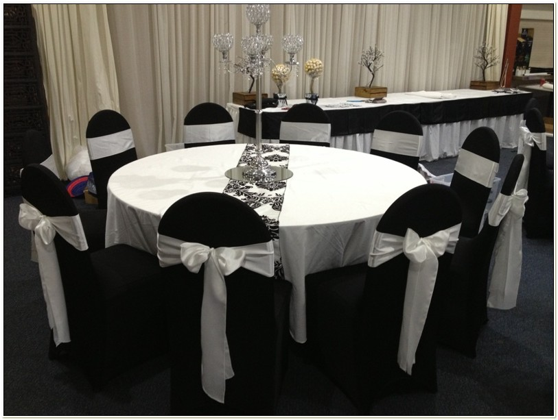 White Lycra Chair Cover Hire